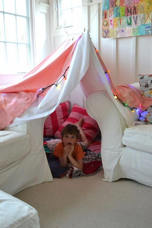 make and easy fort for your kids with just a few supplies rh pinterest com