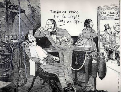 Vintage Scary Dentist Always interesting what you can find when you type in cosmetic dentistry and other related terms