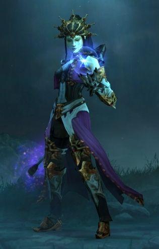 Diablo III Wizard.