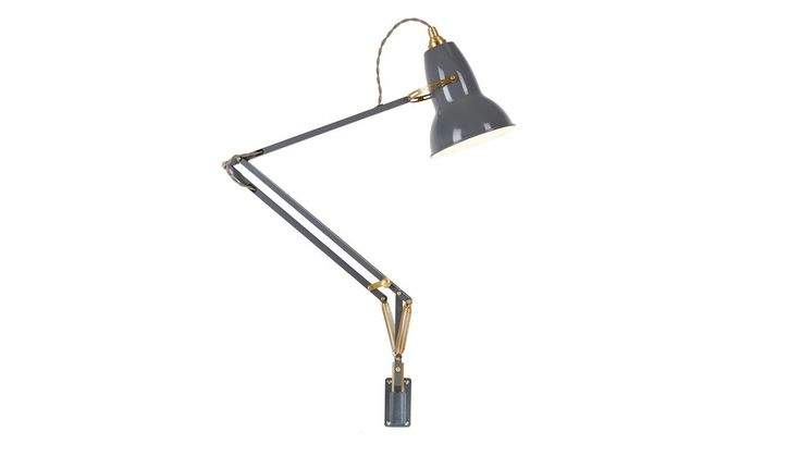The quintessential lamp, the best-selling Original 1227 is an icon of British design. Pioneering Anglepoise' constant spring technology, the instantly recognisable silhouette was first introduced in 1934 with this modern classic now given a heritage look thanks to a beautiful mid-century finish and brass detailing.