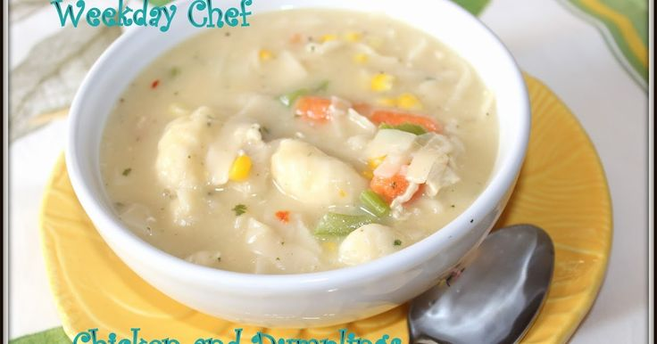 Chicken and Dumplings using Jiffy Mix  Here I am hanging out at the Bear Lake cabin and I wanted to do some chicken and dumplings. Using...