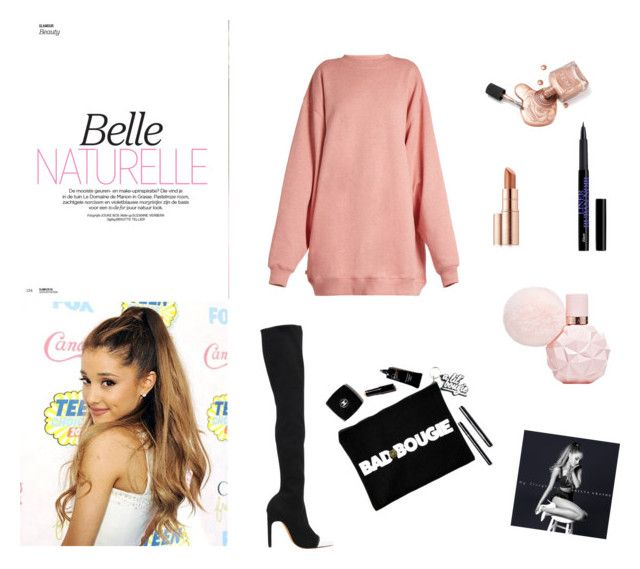 """Ariana Grande"" by carlacorucho on Polyvore featuring Givenchy, Acne Studios and Estée Lauder"