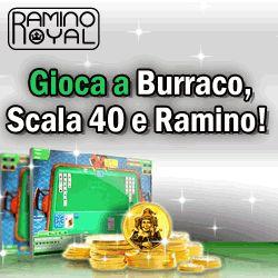 Rummy Royal Carte da Gioco pei Burraco Ramino Scala 40 - Ramino e Scala 40