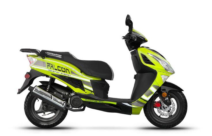 Barton Motors - skutery / Falcon