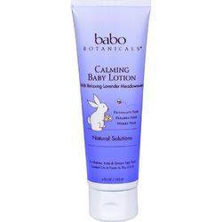 Babo Botanicals Baby Lotion  Calming  Lavender  4 oz