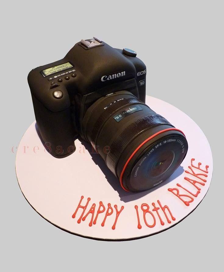 Canon Camera Cake Design : 17 Best images about Pasteles de camara on Pinterest ...
