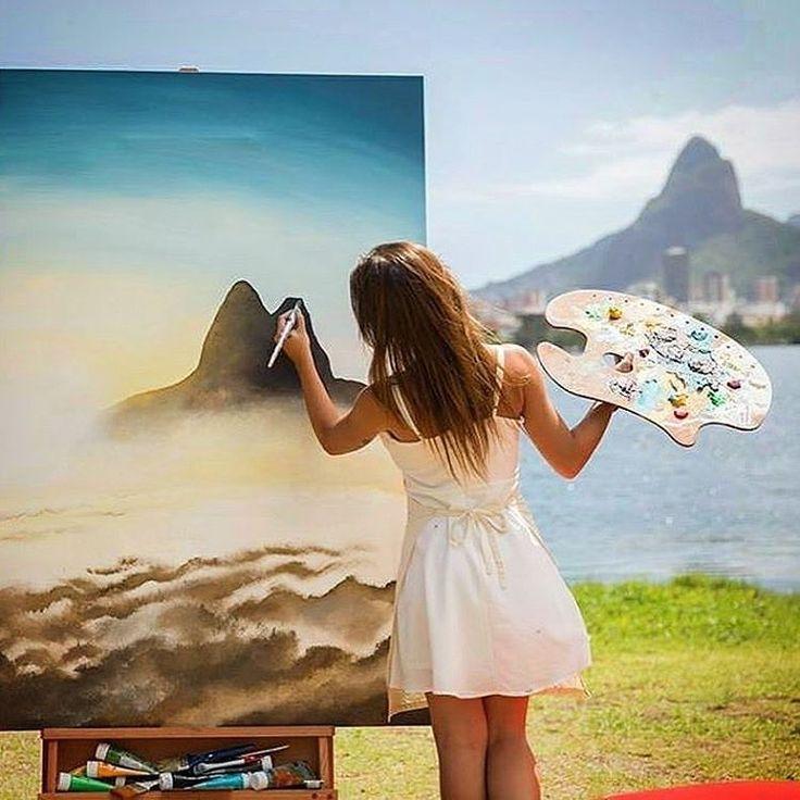 Arte com paisagem do pão de açúcar no Rio de Janeiro. #tatuagem #rio #riodejaneiro #paodeacucar #desenho #arte #art