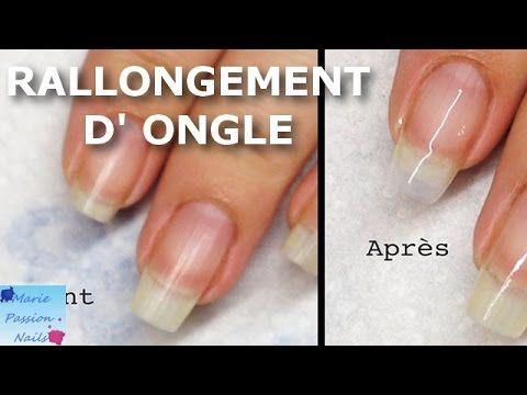 Tuto: Rallongement d'ongle en résine