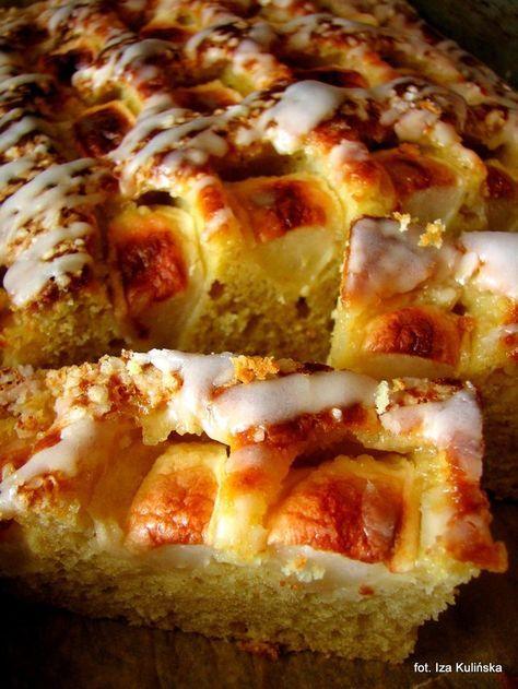 Jabłecznik śmietankowy - ciasto szybkie i łatwe