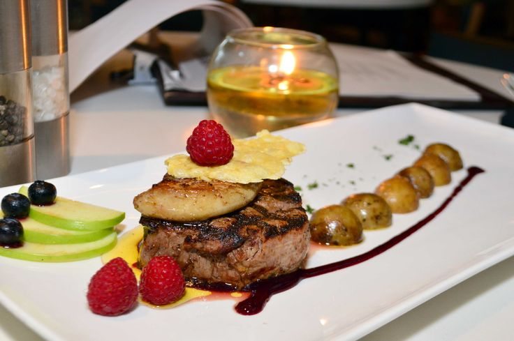 Grilled Tenderloin with Foie Gras