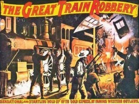 The Great Train Robbery (1903) Full COMPLETE Original Film RESTORED (+pl...http://www.youtube.com/watch?v=zuto7qWrplc&feature=share&list=PL234064E265AE8D75