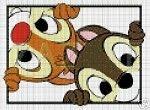 Chip & Dale Faces Crochet Pattern