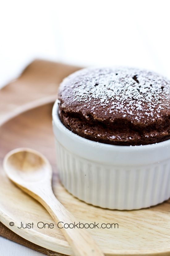 Chocolate Soufflé-- go check out the recipie....and make it in a LARGE dish.. instead of a ramakin.. we all know it will be gone!