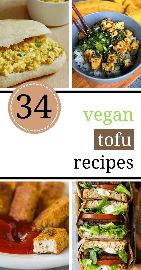 These Vegan Tofu Recipes are simple, healthy and perfect for beginners, too. Fro… –   #gesundesnac…