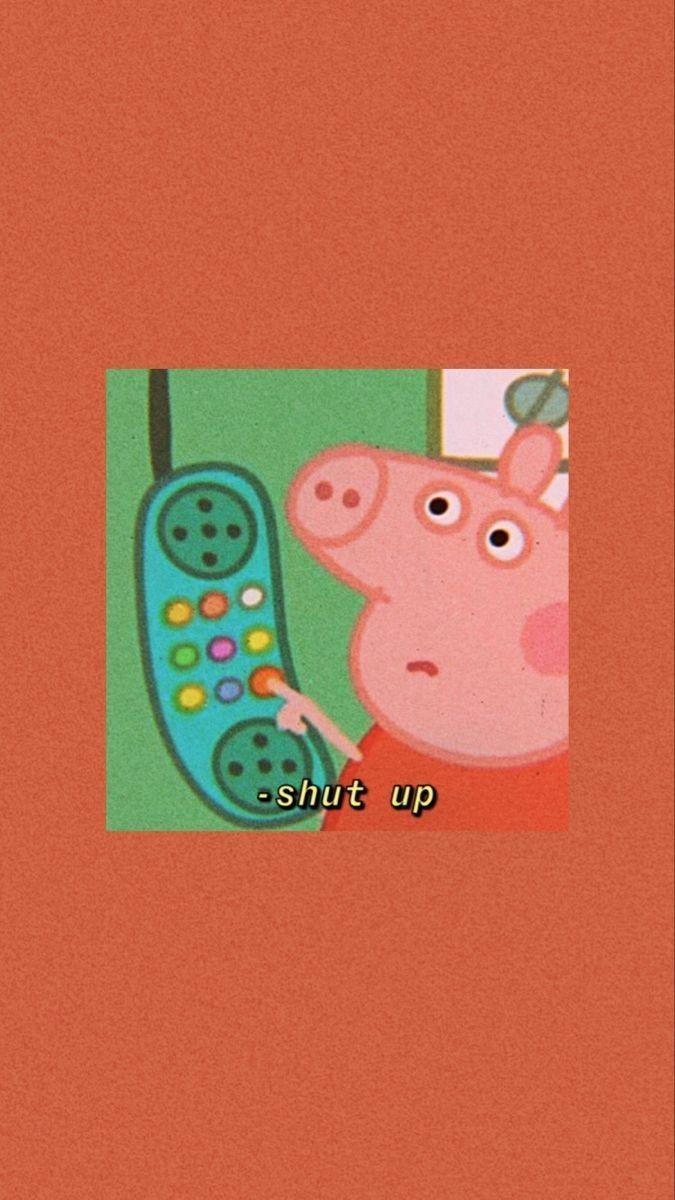 ᴡᴀʟʟᴘᴀᴘᴇʀs Pig Wallpaper Peppa Pig Wallpaper Funny Iphone Wallpaper