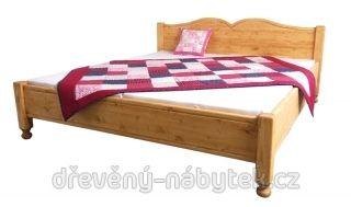 Dvoulůžková postel Kamila