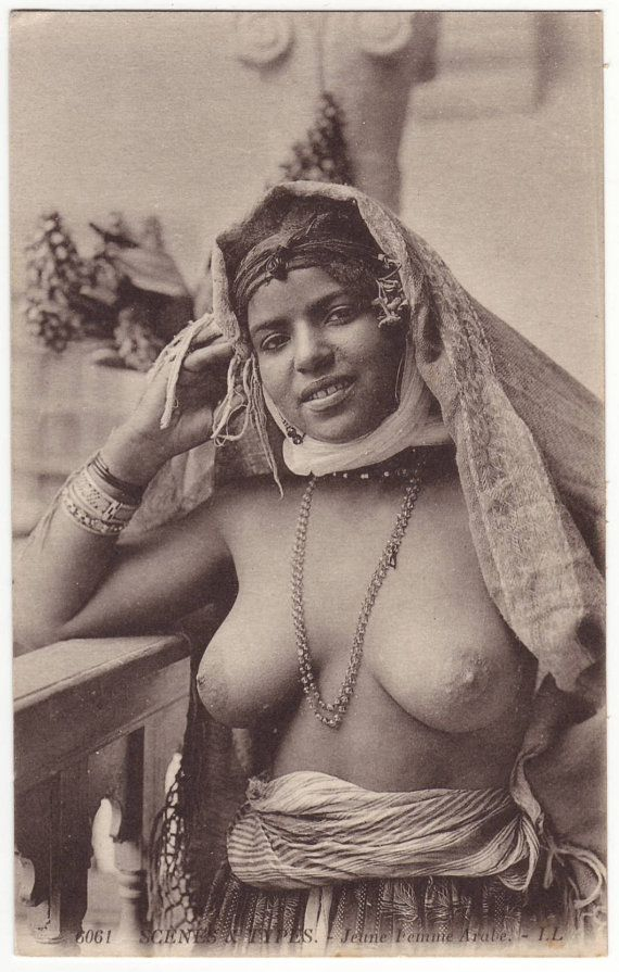1910 French Porn - mature french women naked seductive for voluptuousfrench postcard nude arab  woman bare breasted lady antique edwardian postcard 1910 a347 mature  content ...