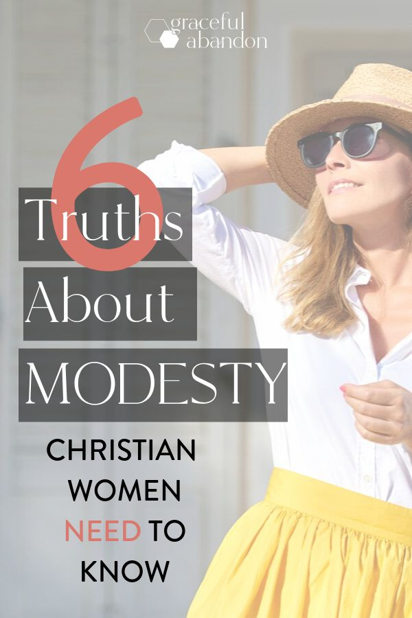 6 Things You Need To Know About Modesty   Christian women
