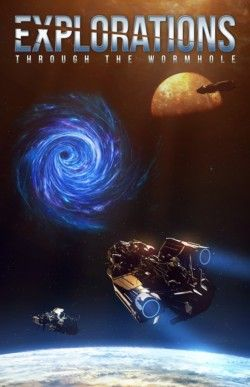 http://bit.ly/2eVHXHj -        Explorations: Through the Wormhole by Various Authors   A collection featuring Richard Fox, Stephen Moss, Ralph Kern, PP Corcoran and many more! It's 2052 and the first known wormhole appears in lunar orbit. Earth sends a ship to investigate and the future of space travel changes forever. The Solar System develops in many ways over the centuries, but one thing remains constant; the wormholes continue to appear. Join many of today's m