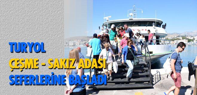 Çeşme - Sakız hattında yeni bir hizmet anlayışıyla bu güne kadar alışılmamış bir konfor sunmayı hedefleyen firma, 68 gemilik filonun amiral gemisini Çeşme'ye tahsis etti. Türkiye'de yapılmış Breau Veritas (BV) Klas'lı tek yolcu gemisi unvanına sahip gemi, bugüne kadar İstanbul'da hizmet veriyorken, artık Sakız hattında..