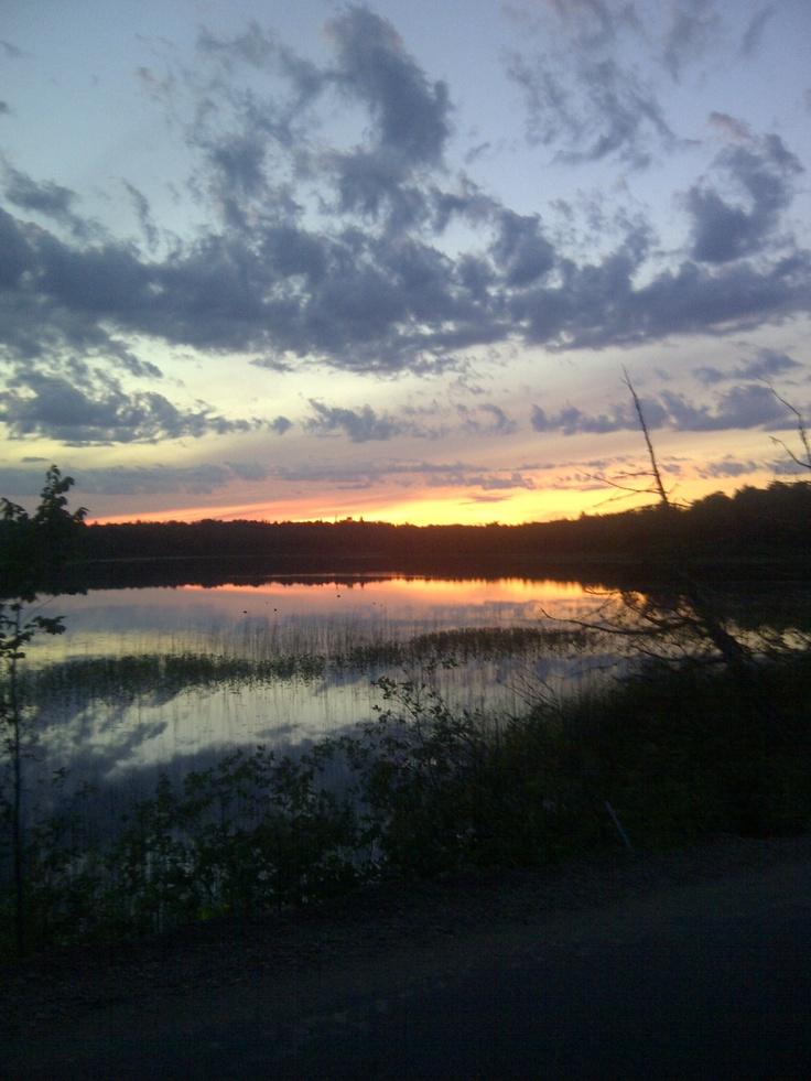 Oxbow Lake, Mercer, Wisconsin