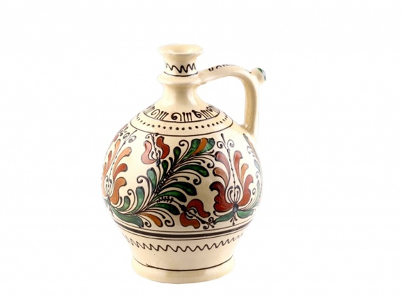 ceramic pitcher from Corund/Korond, Transylvania