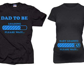 Mom and Dad to be shirts