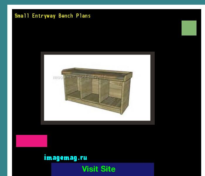 Small Entryway Bench Plans 093039 - The Best Image Search