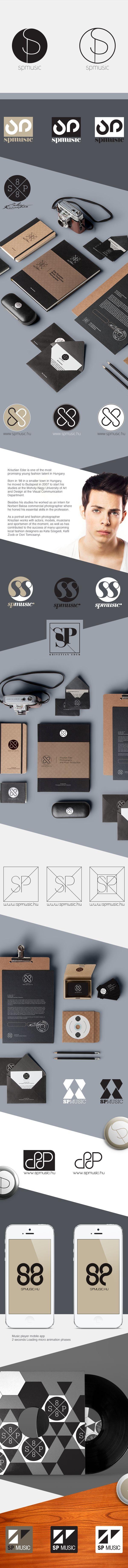 SP Logo / Identity ideas on Behance