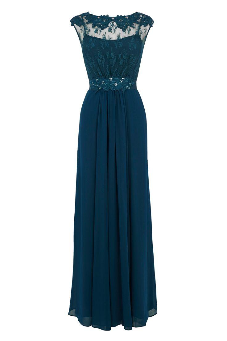 Green/Blue Coast prom dress