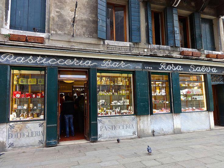 Rosa Salva Patisserie Venice Italy