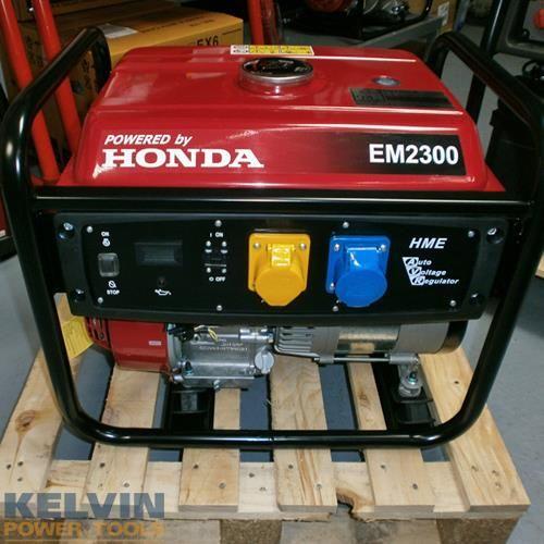 Honda EM2300 2.3kW Petrol Generator with AVR - New!