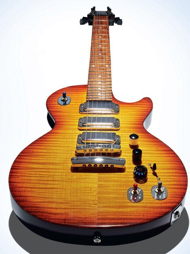 Gibson Les Paul X: a guitarra que se afina sozinha
