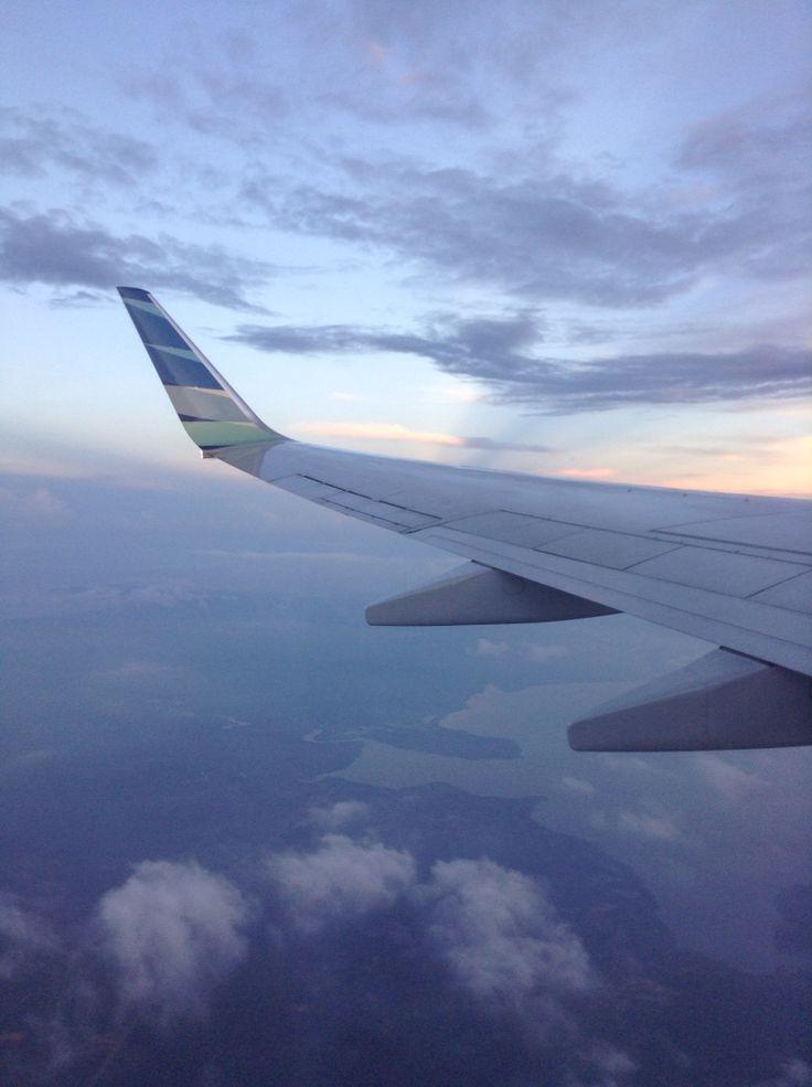 My flight ga 833