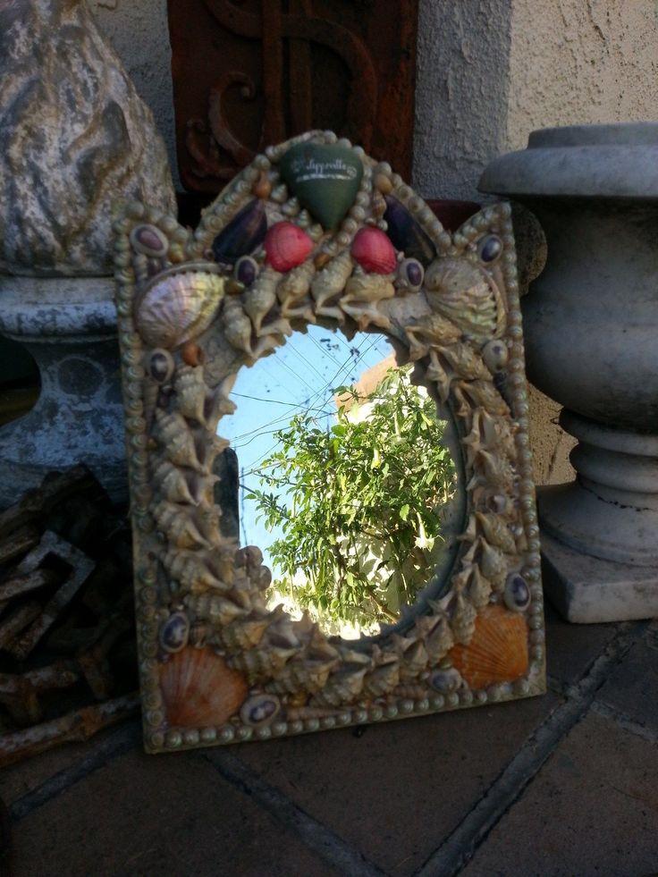 68 Best Antique Victorian Shell Art Images On Pinterest