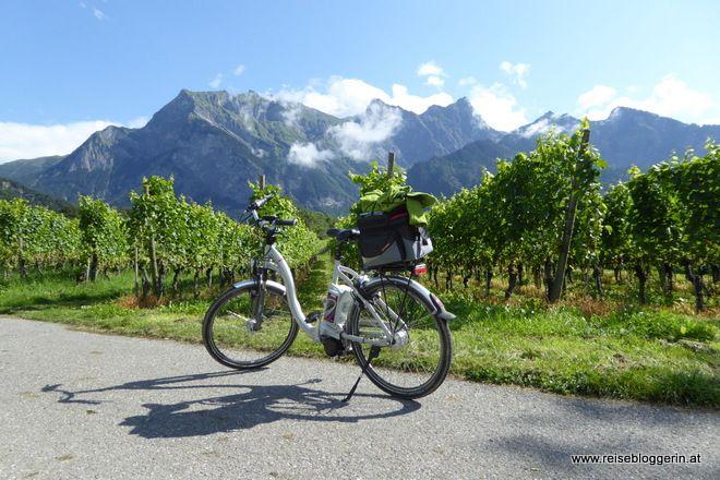 Rheinradweg – Von Chur nach Buchs und Werdenberg