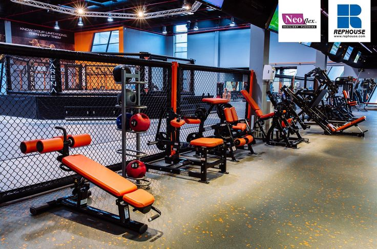 Neoflex 600 Series BFC Rubber Fitness Flooring Arena