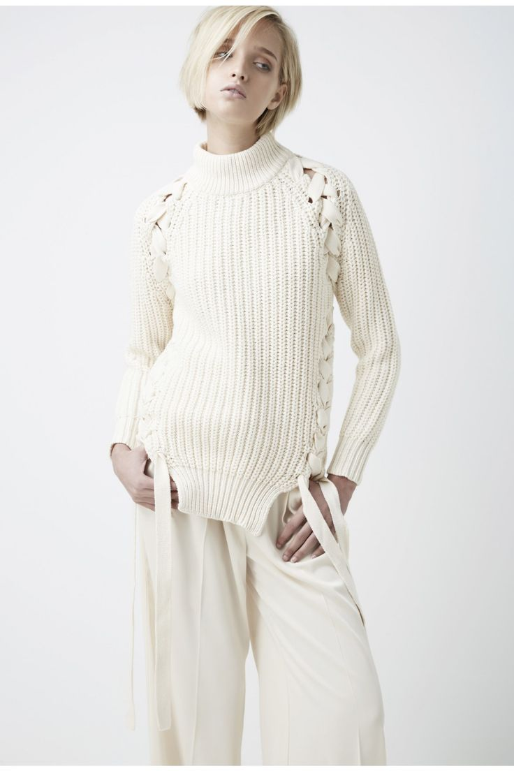 FINDERS KEEPERS TANGLED KNIT CREAM - BNKR