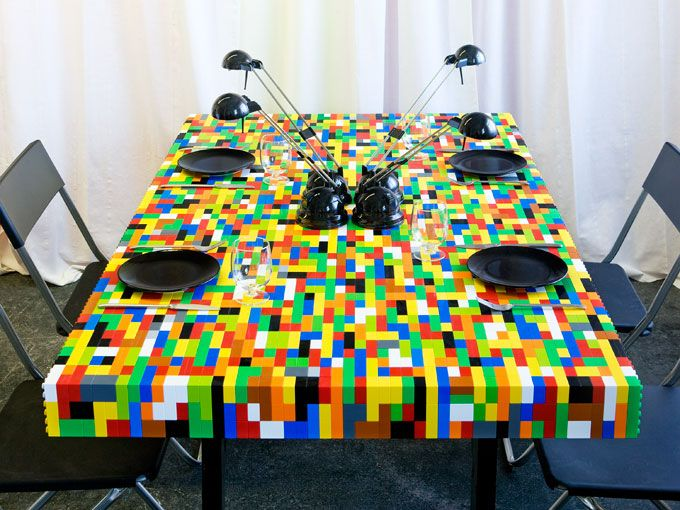 Lego Table Good Looking
