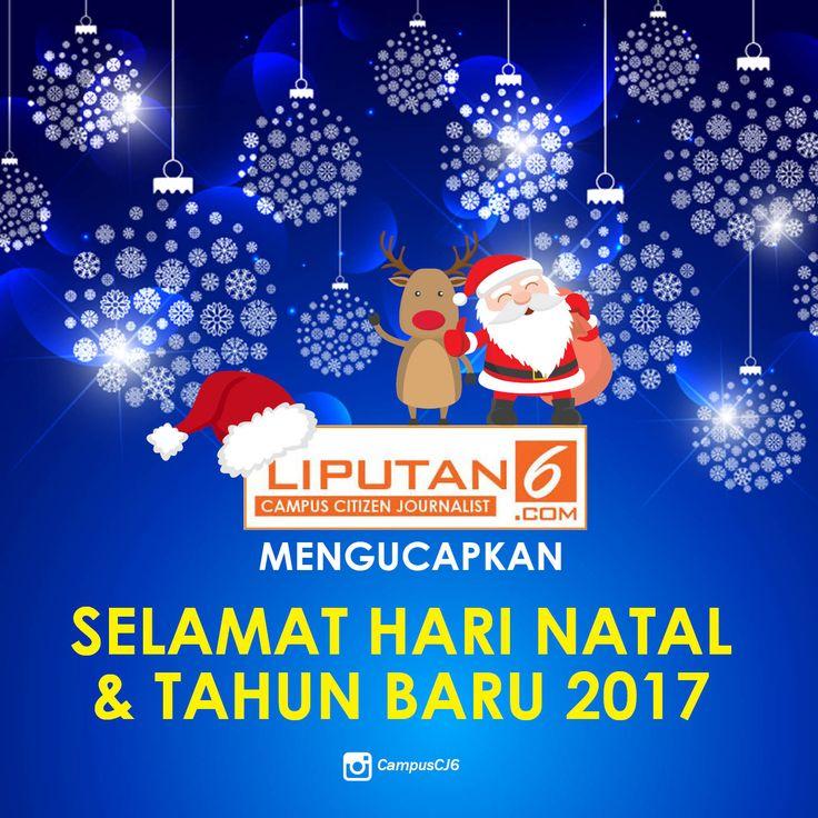 Selamat Hari Natal & Tahun Baru 2017 (Dengan gambar