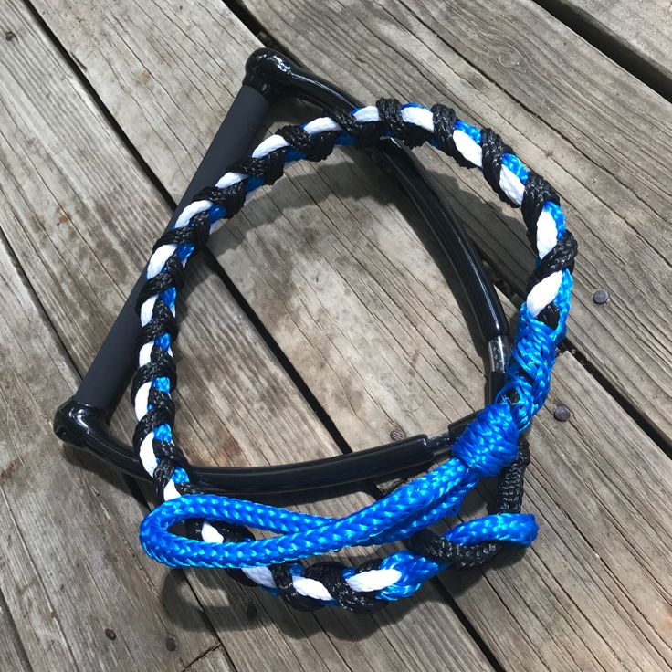Freestyle water ski jump Handle and braid by Knotty Girl