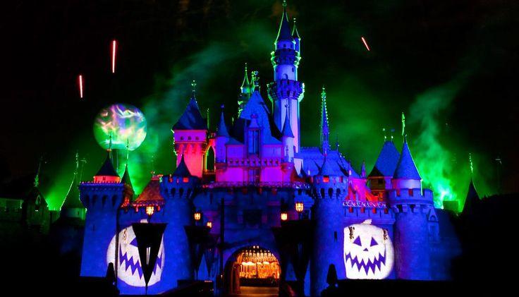 mickeys halloween party disneyland