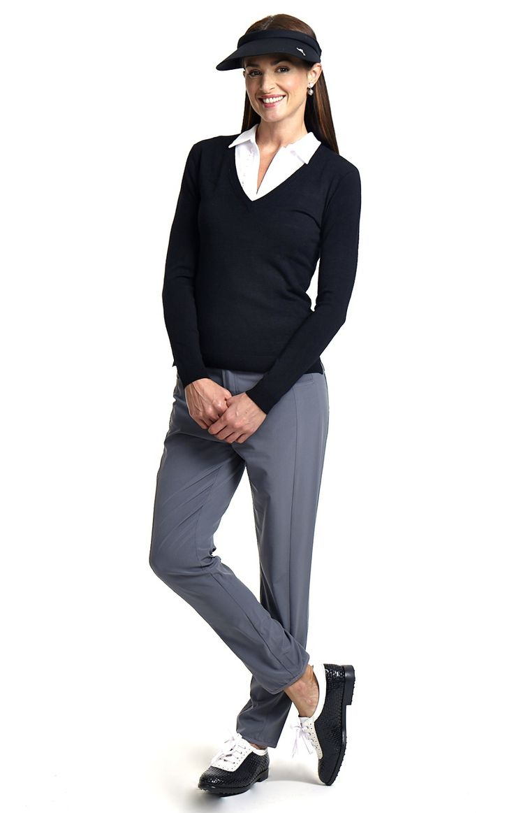 They Grey Performance Pant Womens Golf Fashion http://www.golftiniwear.com/new-the-grey-performance-pant/