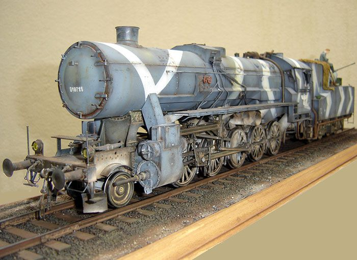 BR 52 Locomotive by Frederic Mouchel (Trumpeter 1/35)