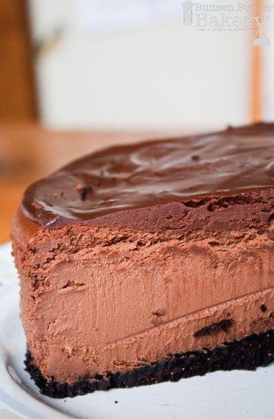 Dark Chocolate Cheesecake