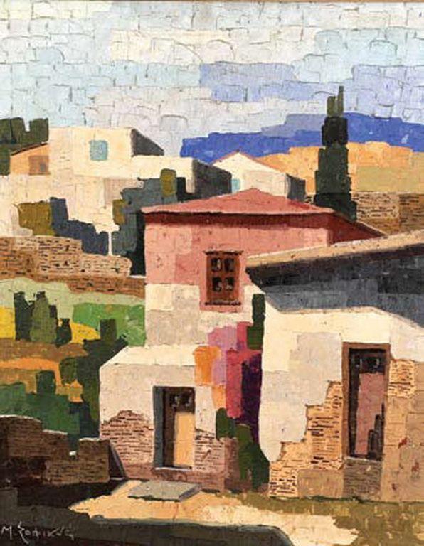 .:. Σοφιανός Μάνος – Manos Sofianos [1922-1986] Γειτονιά στο νησί