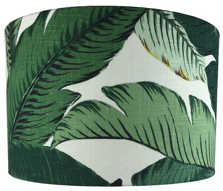 Drum Lampshade - Tommy Bahamas Swaying Palm
