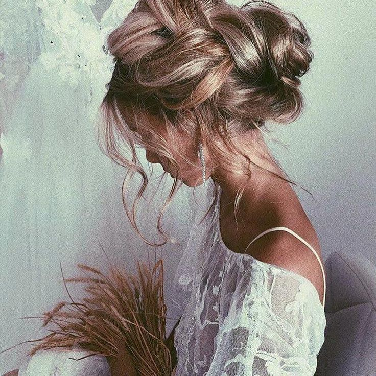 "The Bohemian Wedding on Instagram: ""We've chosen our absolute favorite messy updo hairstyles for your wedding and all of them are amazing!! There..."