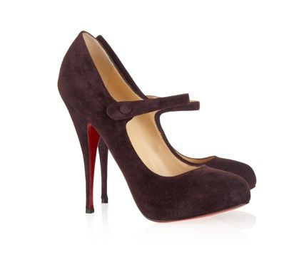 Christian Louboutin - Decocolico 140 suede pumps