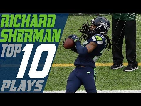 Richard Sherman's Top 10 Plays of the 2016 Season | Seattle Seahawks | NFL Highlights - YouTube